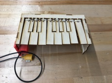 Using the BOSEbuild sensors to create a piano