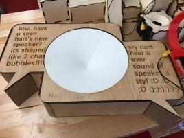 Laser cut DIY BOSEbuild speaker